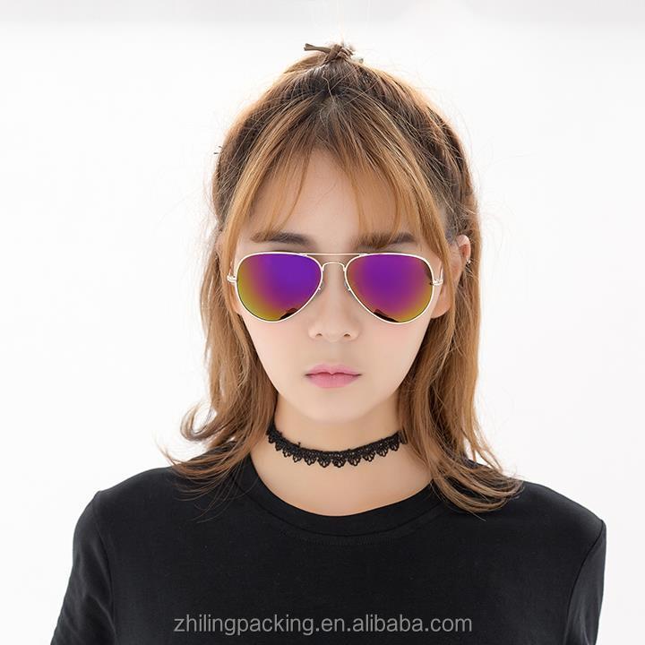 ZHILING 레이 태양 안경 금속 선글라스 낮은 가격