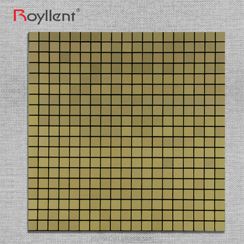 Metal Glass Mosaic tile Modern Kitchen Home Decoration Bathroom Design Building Materials China Supplier RM201629