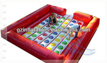 2013 (Qi Ling) funny inflatable sport twister game