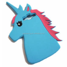 3D unicorn silicone case for Samsung Galaxy S3 S4 S5 S6 S6 edge