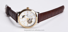 luxury classic watch water resistant quartz watch japan movement watch