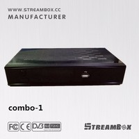 Streambox Sunplus 1505 DVB-T2+DVB-S2 Combo FTA set top box receiver with WiFi and IPTV