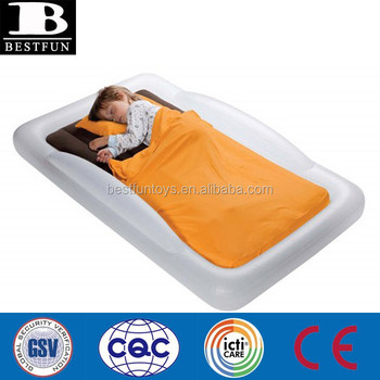 inflatable toddlers air bed children airbed portable camping travel kids mattress