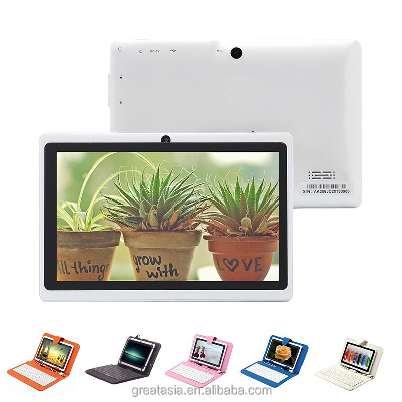 7 inch android 4.2 allwinner a23 dual core mid firmware 512M 4G Capacitive Screen Q88