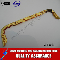 gold color purse frame/ metal bag closure for purse making accessories