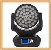 bar lighs 37PCS 10W led moving head party lighting with 4in1 led zoom
