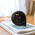 Fashion rf weather station clock with comfort icons