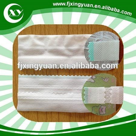 Magic side tape hook and loop for baby and adult diaper making in alibaba China