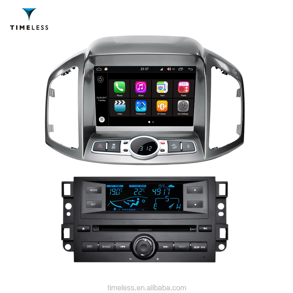 "Android 7.1 Timelesslong 1 Din Car DVD FOR CHEVROLET 2012 Captiva 8"" with S190 platform/Wifi(TID-Q109-1)"