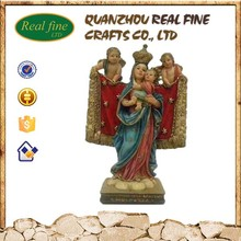 Cheap baby Jesus angel and Mary statue for Christmas