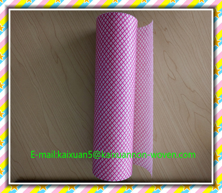 [FACTORY ] Multi-purpose nonwoven fabric roll/window cleaning cloth/dry cleaning wipe sheet