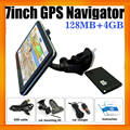 Portable 7inch GPS Navigation System for all kinds of vehicles with Free Maps