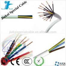 CE certificate electrical computer cable UL2464 shielded braided 16awg 18awg 20awg 22awg 24awg 26awg 28awg 30awg wire