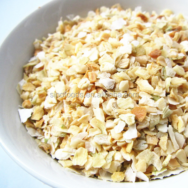 China Factory Natural New dehydrated white onion granules