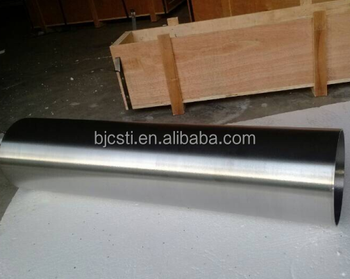 Manufacturing big OD. SEAMLESS astm b861 gr2 titanium tubes For petroleum pipeline