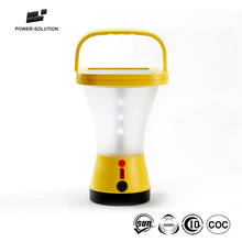 Outdoor Waterproof 360 Degree Llighting Solar Led Emergency Camping Lantern Charge For Mobile Phone