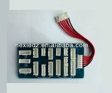 Universal Balancing Adapter Board for 2S-6S LiPo - JST-XH, JST-TP, and JST-HP
