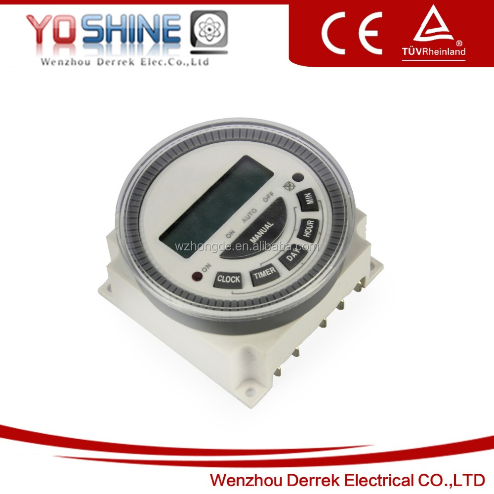 TM-619 Digital Timer Switch Weekly Timer