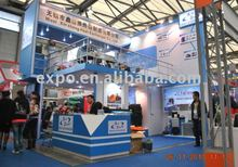 bauma China 2014 stand builders double deck booth