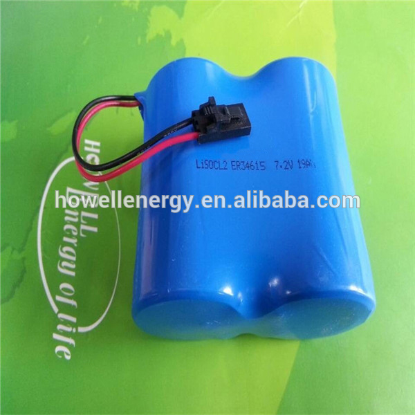 Howell 9 Volt Dry Cell LiSOCl2 er9v 1200mAh Lithium Battery