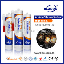 High temp. Acetic Cruing Silicone Industrial Adhesives Sealant
