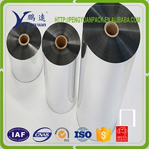 95% reflective hight barrier Metallic Metallized PET film