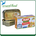 sardines morocco in can with high quality and best price for N.W125G D.W 90G canned sardine fish in tomato sauce