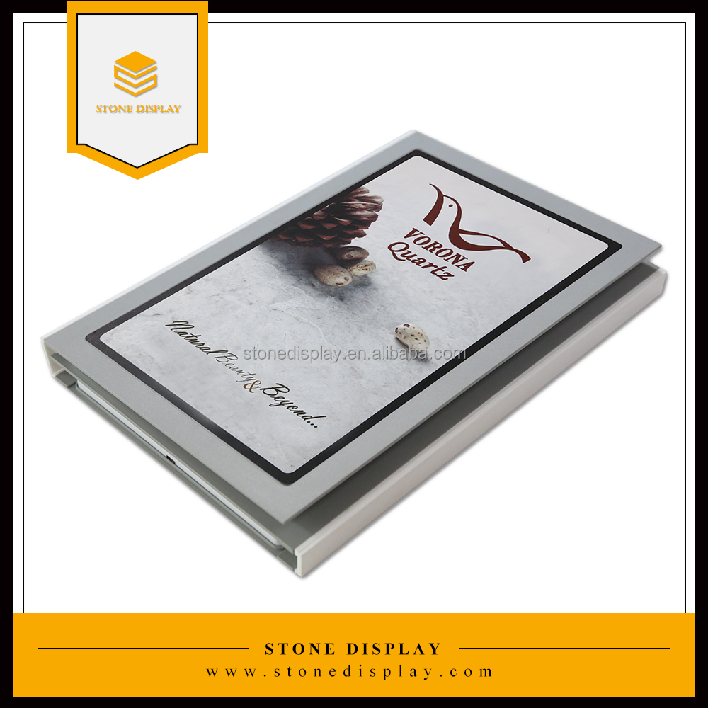 marble/granite/ceramic/mosaic/quartz stone tile display book/sample book/case/box