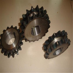 Motorcycle chain sprocket set