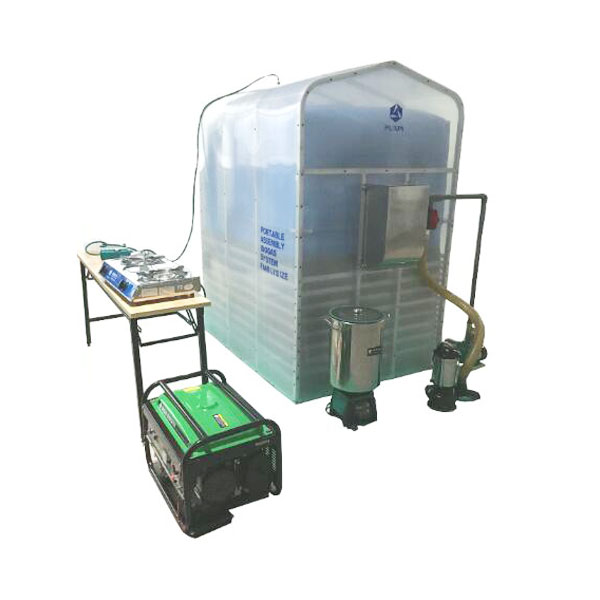 portable PUXIN pvc small domestic biogas digester for cooking fuel