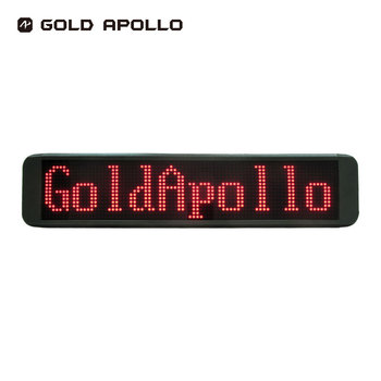 Gold Apollo- 18 month warranty Wireless Red 10T LED Sign AS-112