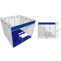 High Performance Outdoor Aluminium Display Stand Exhibition Booth