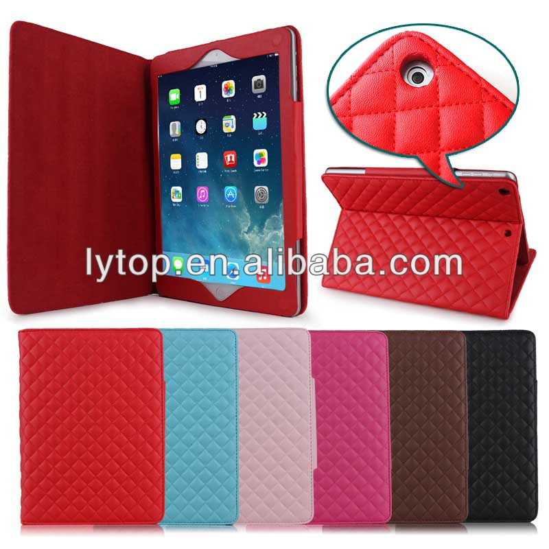 corner protection leather case for ipad air