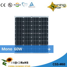 Hot sell new designed high efficiency flexible solar panels 5watt monocrystalline from China factory