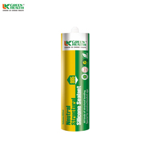 Non toxic glass silicone sealant for structural glazing