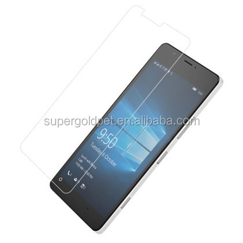0.3mm 2.5D 9H anti-scratch mobile phone screen protector for Nokia 950