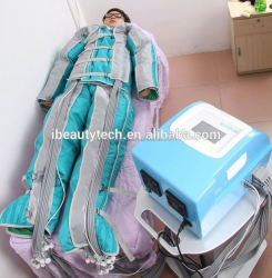 New product pressotherapy lymph drainge device/pressotherapy slimming equipment/pressotherapy body slimming machine