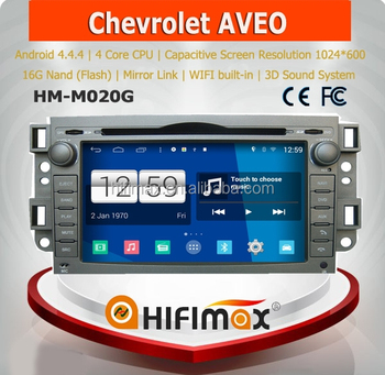HIFIMAX Android 4.4.4 car dvd gps for Chevrolet Aveo 2006 2007 2008 2009 2010 2011