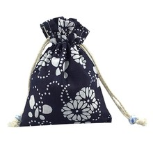 High Quality Best Price Comfortable Custom White Cotton Muslin Drawstring Bag