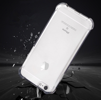 Crystal clear strong shockproof case for iphone 5/6/6plus