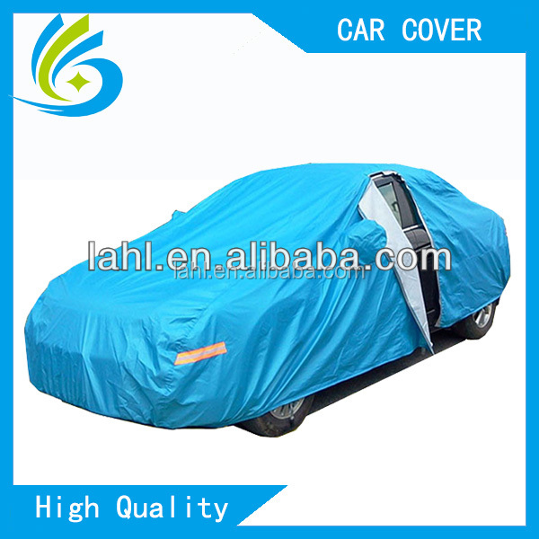 Waterproof Silver Car Top Cover Made in Aluminium Laminated Non-woven