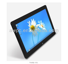W1180 Tablet PC Win8 , celeron-1037U tablet pc with windows OS, Ivy Bridge Tablet laptop