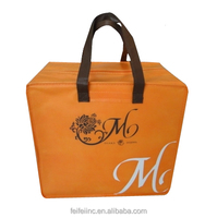 2015 New design Beer bottle or wine cooler tote bag