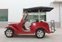 ECC/CE/EEC approved china manufacturer low speed luxury electric sightseeing 4seat classic car