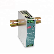 120W 24V 5A Power Supply EDR-<strong>120</strong>-24 Mean Well Single Output Industrial DIN RAIL