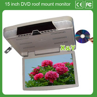 15 inch Portable Headrest car monitor with dvd player (XY-156DVD)