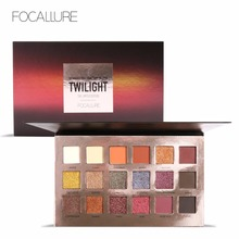 Newest Focallure brand high pigment cosmetic palette beautiful 18 colors makeup eyeshadow