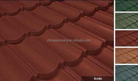 Color stone-coated steel roof tile for Nigeria