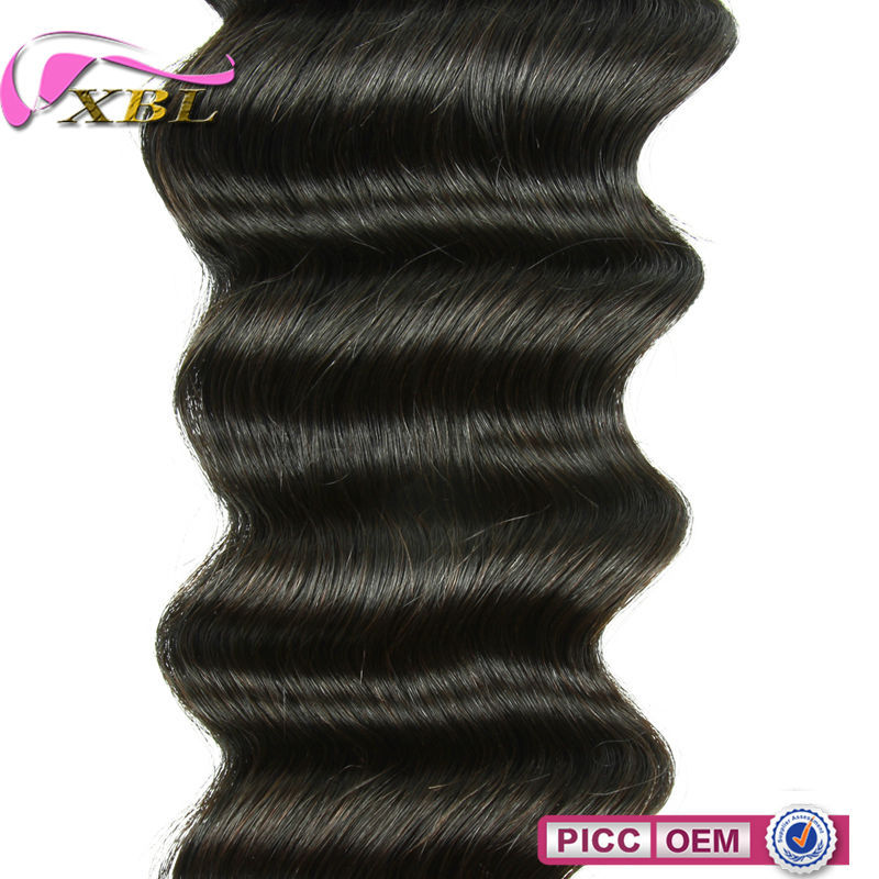 XBL New Arrival Cheap Human Hair Weaving Double Layers Human Hair Weaving