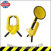 Manual Suction Cup Safety Car Wheel Lock For Sale